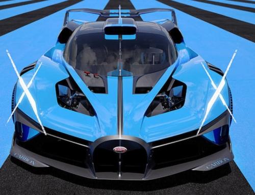 Bugatti Bolide. Forma, velocità, ebbrezza