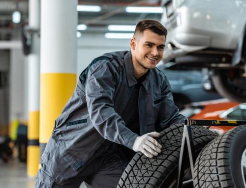 Il cambio degli pneumatici è importante!